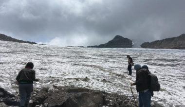 Nevado de santa isabel, trekking