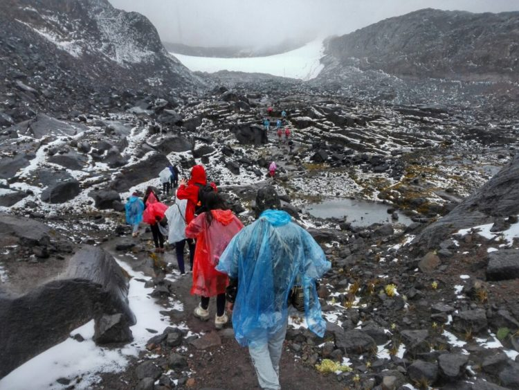 Clima Nevado Santa Isabel