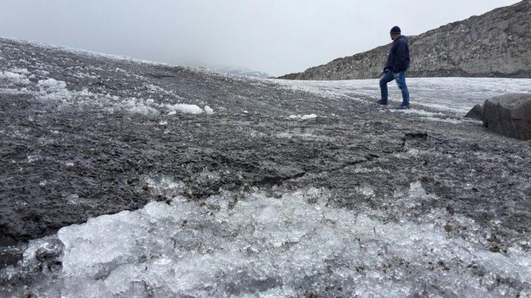 Caminando Nevado Santa Isabel
