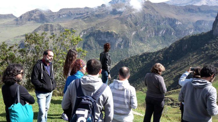 vista Nevado Santa Isabel