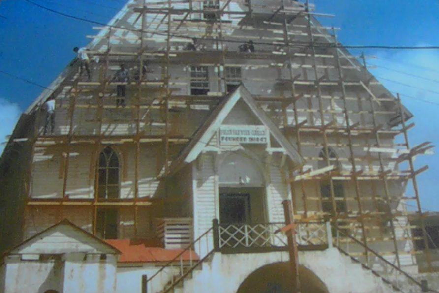 Construcción Iglesia Bautista 1844 - San Andrés Islas Historia y Cultura - Blog de Viajes - ColombiaTours.Travel