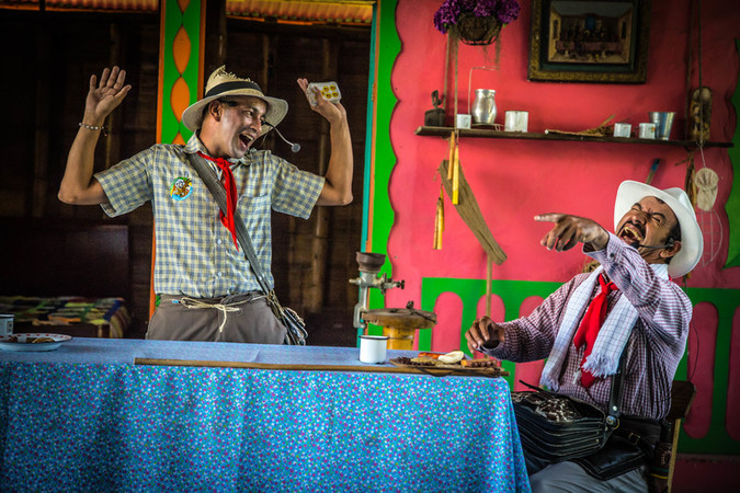 Park-los-drovers culture Eje Cafetero - Park the carriers - Quimbaya Quindio