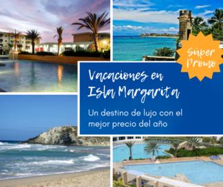 Vacaciones en Isla Margarita Venezuela desde Colombia - Plan todo incluido