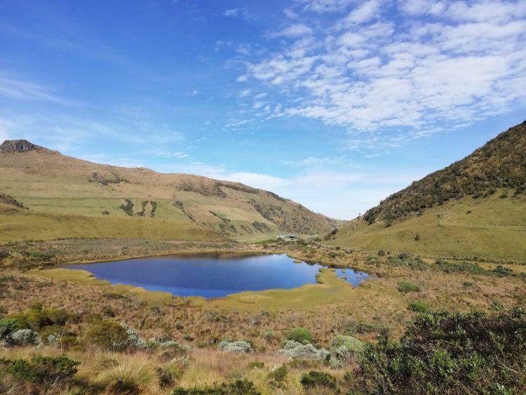 Nevado del Ruíz - Los Nevados National Natural Park - Colombia - High Mountain - Tourist Plans - Black Lagoon