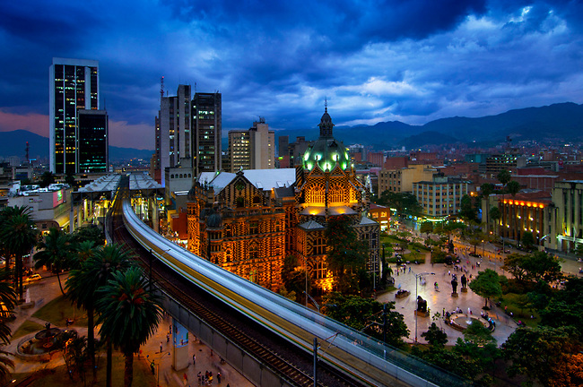 Night tour in Medellin Colombia