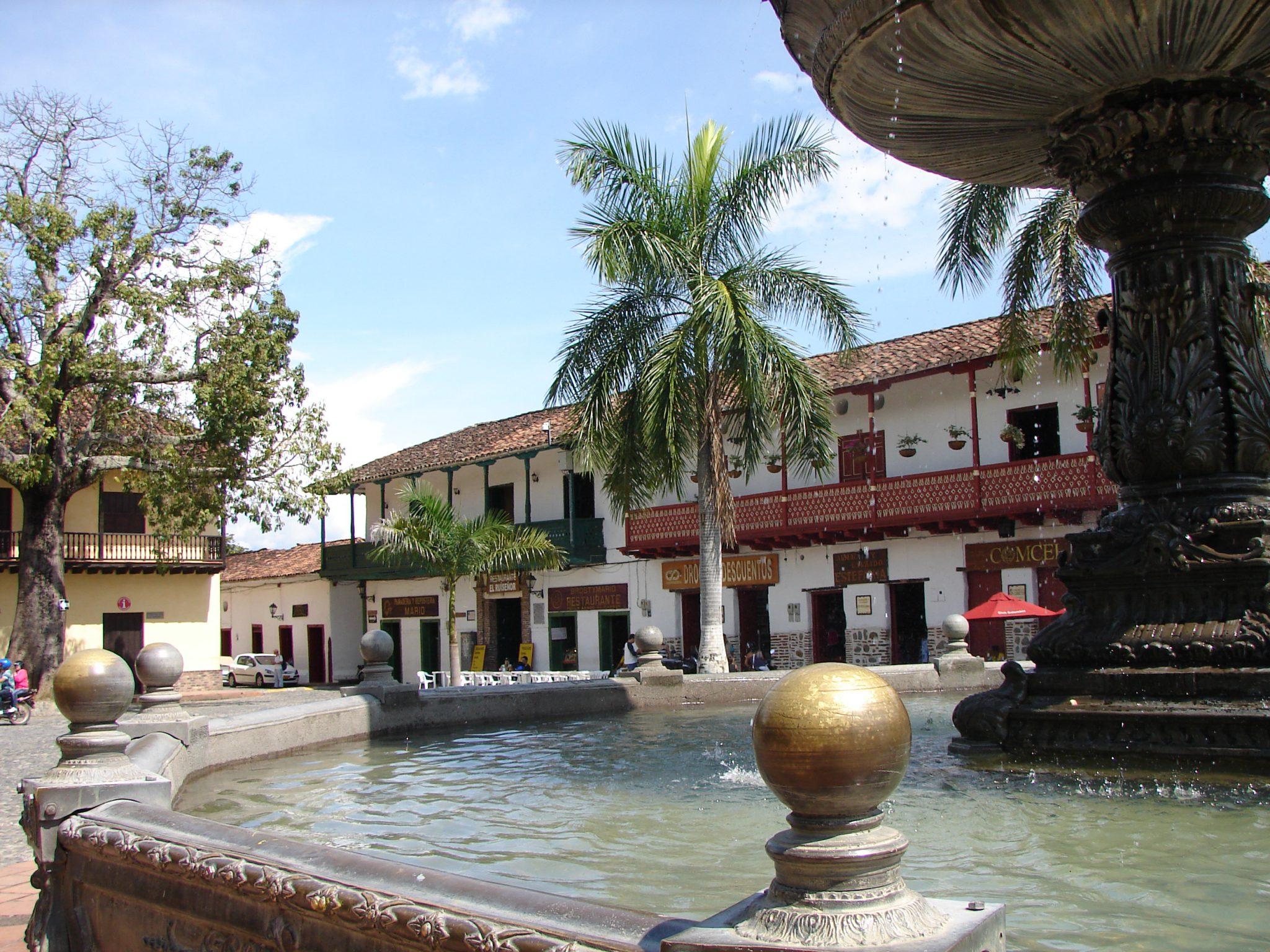 Santa Fe de Antioquia, a traditional colonial place