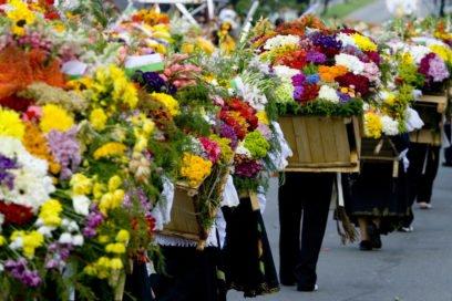 Feria de las Flores Silleteros Medellín