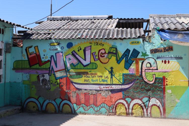 Islote Bolívar - graffiti - Tour del Graffiti Comuna 13 Medellin Colombia Viajes