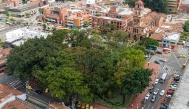 Parque el Poblado Medellín