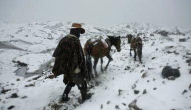 Como llegar Nevado Santa Isabel