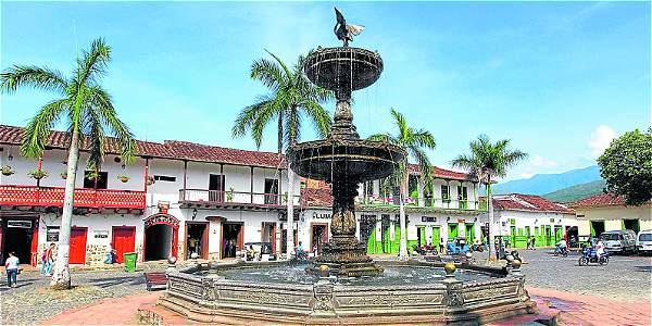 Plaza Central Santa Fé de Antioquia
