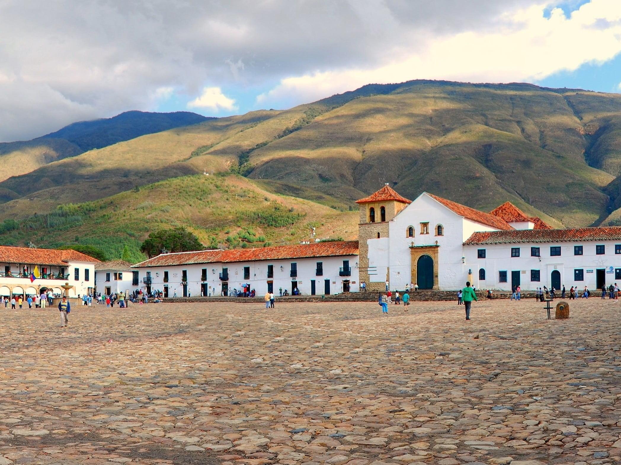 Boyacá Colonial-Plaza central