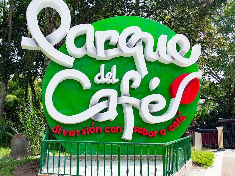 Entrada Principal Parque del Café del Quindío